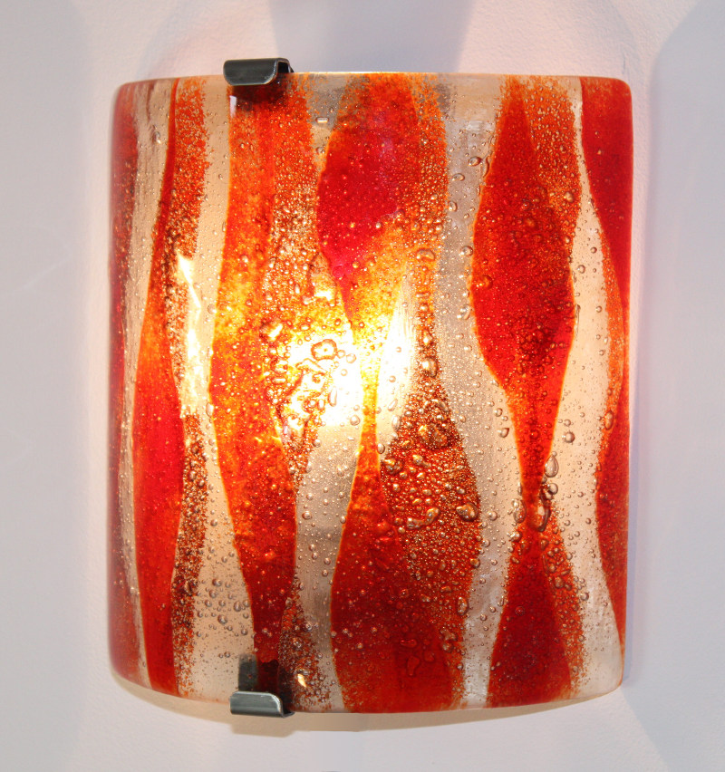 Wall lights wall light red flame aloadofball Choice Image