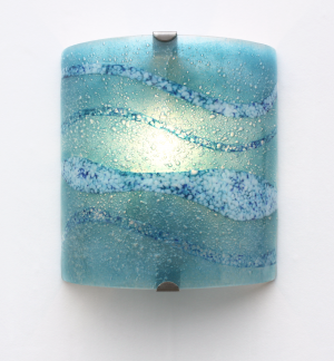 wall lights - fistral blue