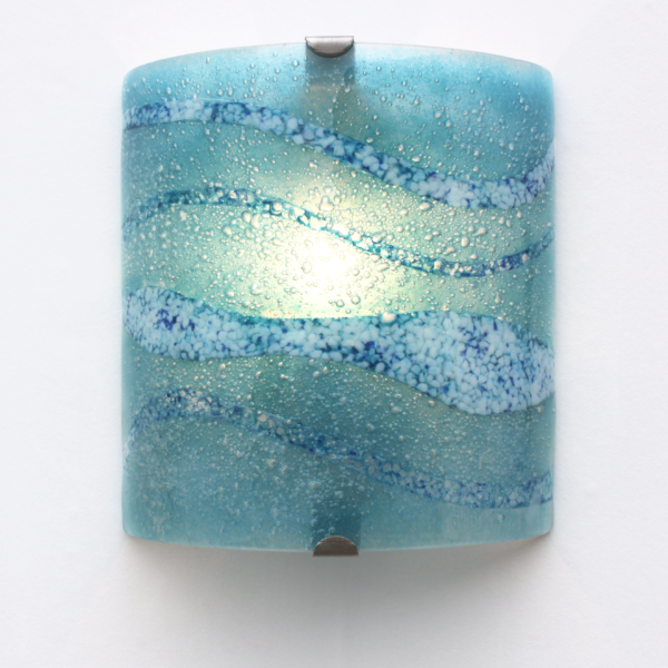 wall lights - fistral blue