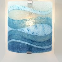 glass wall light perran surf