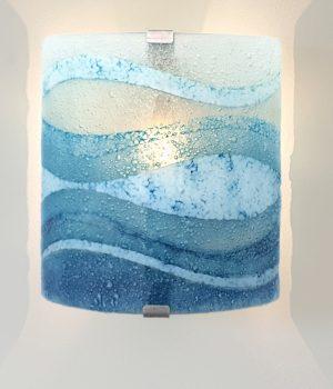 glass wall light perran surf