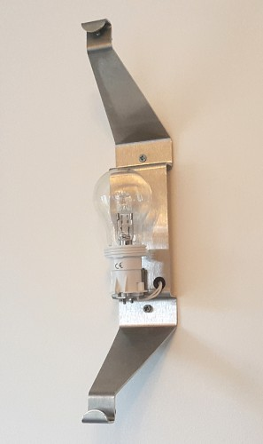 wall light fixture fixing bracket