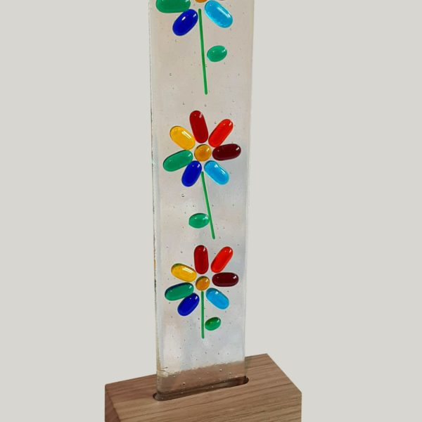 lightcatcher with flowers