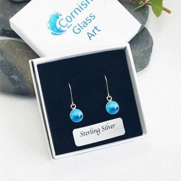 ocean drop earrings boxed