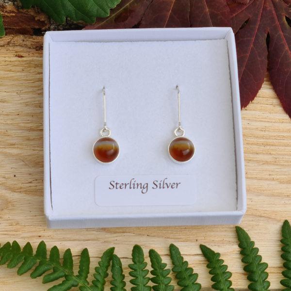 woodland drop earrings