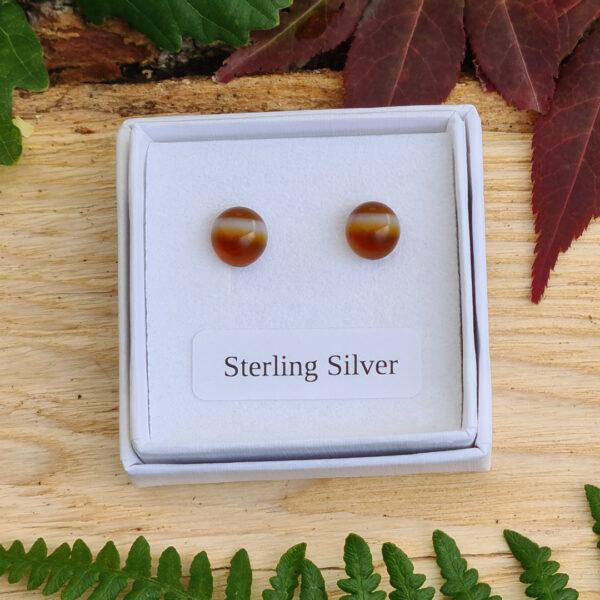 woodland stud earrings